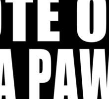 Vote Out NRA Pawns Sticker