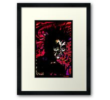 Hades. God Of The Dead. Framed Print