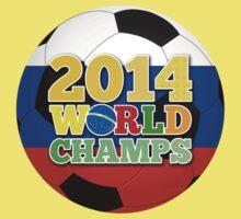 2014 World Champs Ball - Russia Baby Tee