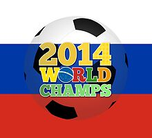 2014 World Champs Ball - Russia by crouchingpixel