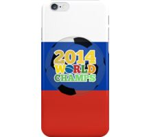 2014 World Champs Ball - Russia iPhone Case/Skin