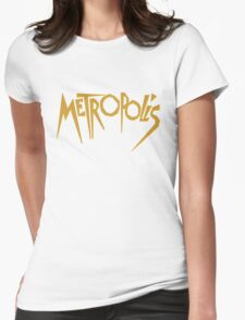 Metropolis (1927) Movie Womens Fitted T-Shirt