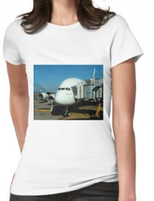 Emirates Airbus A380 Womens Fitted T-Shirt