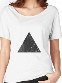 Space in a Triangle Women's Relaxed Fit T-Shirt