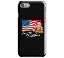 America's National Treasure - White Text iPhone Case/Skin