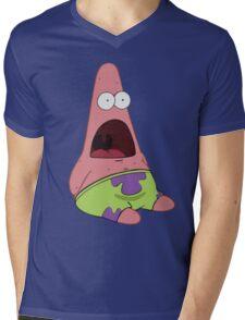 Surprised Patrick Star  Mens V-Neck T-Shirt
