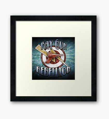 Logo - Ray Gun Rebellion Framed Print