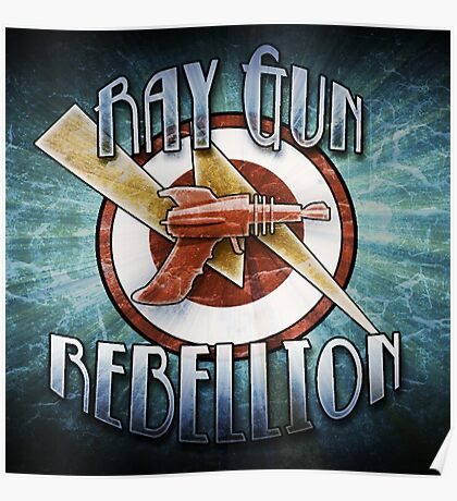 Logo - Ray Gun Rebellion Poster