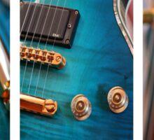 Guitar Art Sticker