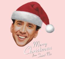 Merry Christmas from St Nic-olas Cage One Piece - Short Sleeve