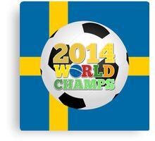 2014 World Champs Ball - Sweden Canvas Print