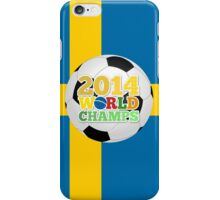 2014 World Champs Ball - Sweden iPhone Case/Skin
