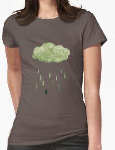 Acid Rain  Womens Fitted T-Shirt