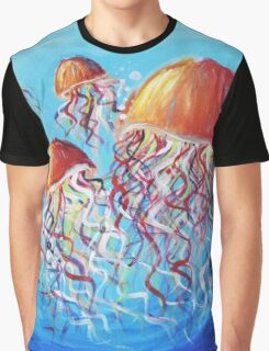 JELLY | Acrylic on Canvas Graphic T-Shirt