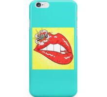 Blam Mouth - Pop Art Style iPhone Case/Skin