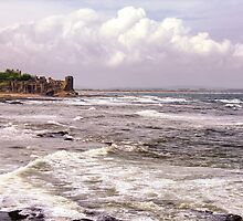 St Andrews Castle by Kasia-D