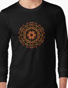 Energetic Geometry - Solar Blessing Long Sleeve T-Shirt