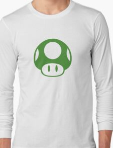 Super Mario Bros 1-Up Mushroom Long Sleeve T-Shirt