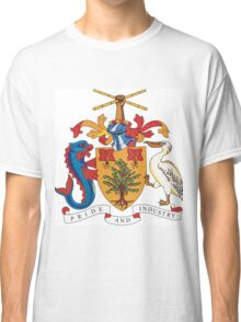 Barbados Coat of Arms Classic T-Shirt
