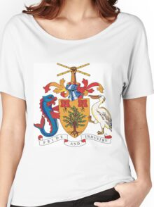 Barbados Coat of Arms Women's Relaxed Fit T-Shirt