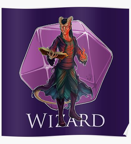Dungeons and Dragons Wizard Poster