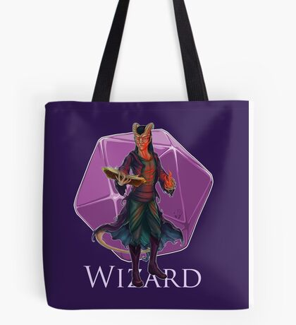 Dungeons and Dragons Wizard Tote Bag