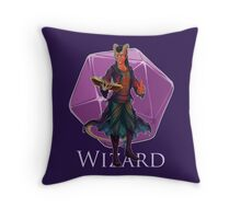 Dungeons and Dragons Wizard Throw Pillow