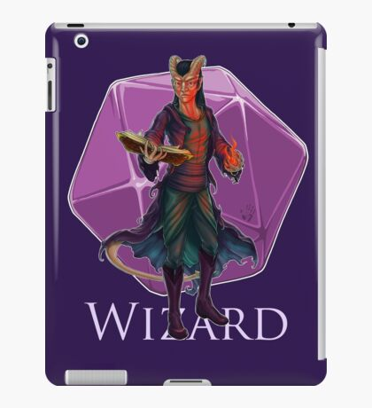 Dungeons and Dragons Wizard iPad Case/Skin