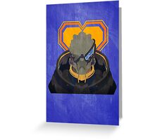 N7 Keep - Garrus Greeting Card