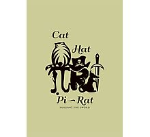 Pi - Rat - Riddle Photographic Print