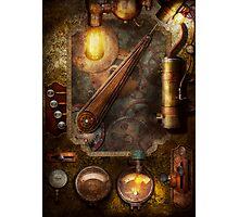 Steampunk - Victorian fuse box Photographic Print