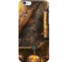 Steampunk - Victorian fuse box iPhone Case/Skin