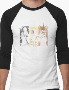 Dark Waifus Men's Baseball ¾ T-Shirt