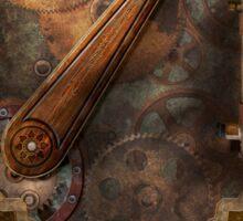 Steampunk - Victorian fuse box Sticker