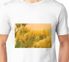 Golden Rod Solidago  Unisex T-Shirt
