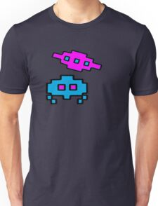 RETRO SPACE CHARACTERS Unisex T-Shirt