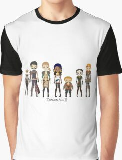 Dragon Age II Party Graphic T-Shirt