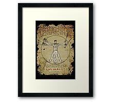 The Ash-Truvian Man Framed Print
