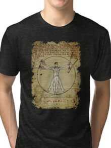 The Ash-Truvian Man Tri-blend T-Shirt