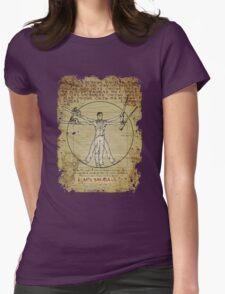 The Ash-Truvian Man Womens Fitted T-Shirt