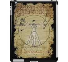 The Ash-Truvian Man iPad Case/Skin