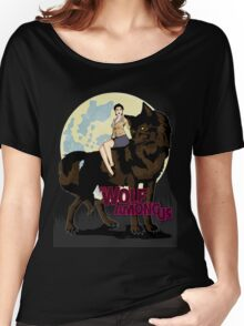 One Big Bad Wolf Women's Relaxed Fit T-Shirt