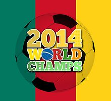 2014 World Champs Ball - Cameroon by crouchingpixel