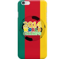 2014 World Champs Ball - Cameroon iPhone Case/Skin