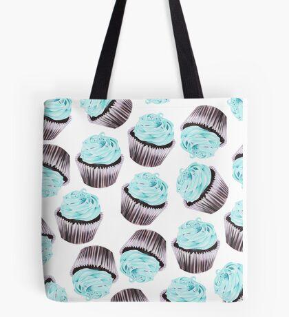 Chocolate Mint Cupcake Tote Bag