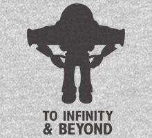 Buzz Lightyear: To Infinity & Beyond - Black Kids Tee