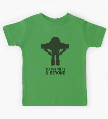 Buzz Lightyear: To Infinity & Beyond - Black Kids Tee