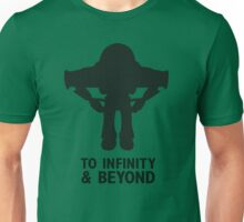 Buzz Lightyear: To Infinity & Beyond - Black Unisex T-Shirt
