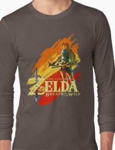 Legend of Zelda - Breath of The Wild Long Sleeve T-Shirt