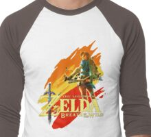 Legend of Zelda - Breath of The Wild Men's Baseball ¾ T-Shirt